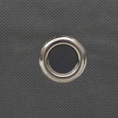 vidaXL Cajas de almacenaje 4 unidades textil no tejido 32x32x32cm gris[6/7]