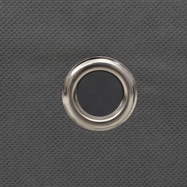vidaXL Boîte de rangement 10 pcs Tissu non-tissé 32 x 32 x 32 cm Gris[6/7]