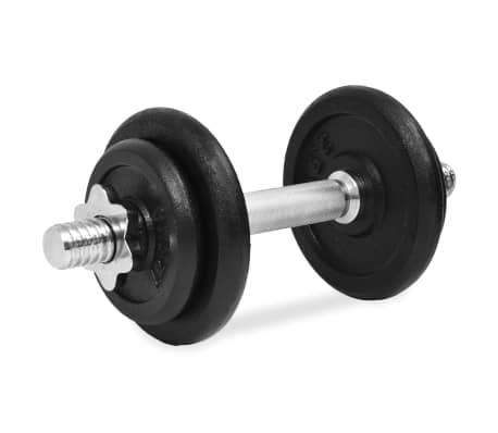 vidaXL Hantelset 14-tlg. 20 kg Gusseisen[5/6]