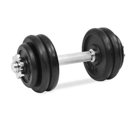vidaXL hanteļu komplekts, 18 gab., 30 kg, čuguns[5/6]