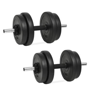 vidaXL håndvægtsæt i 14 dele 20 kg[1/6]