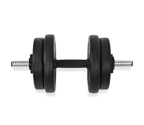 vidaXL Hantelset 14-tlg. 20 kg[4/6]