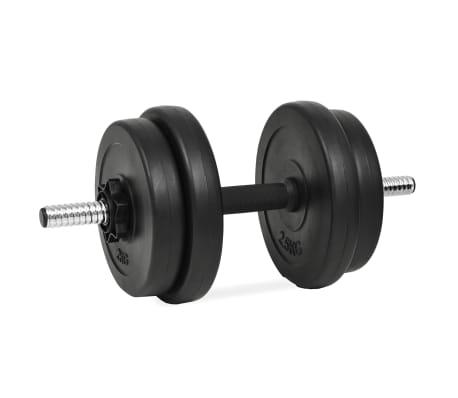 vidaXL håndvægtsæt i 14 dele 20 kg[5/6]