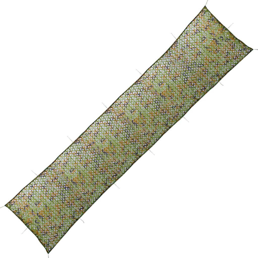 vidaXL Plasă de camuflaj cu geantă de depozitare, 1,5 x 10 m poza vidaxl.ro