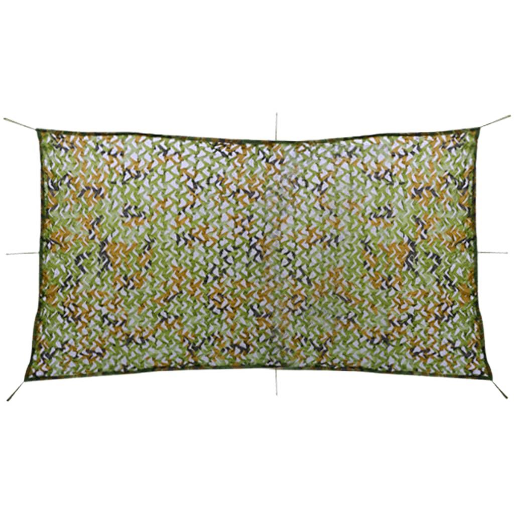 vidaXL Plasă de camuflaj cu geantă de depozitare, 4 x 8 m poza vidaxl.ro