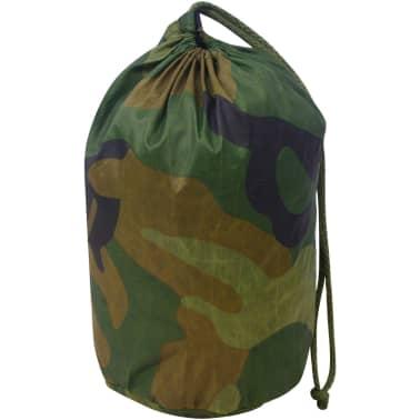 vidaXL Kamufliažinis tinklas su saugojimu krepšiu, 6x6 m[3/4]