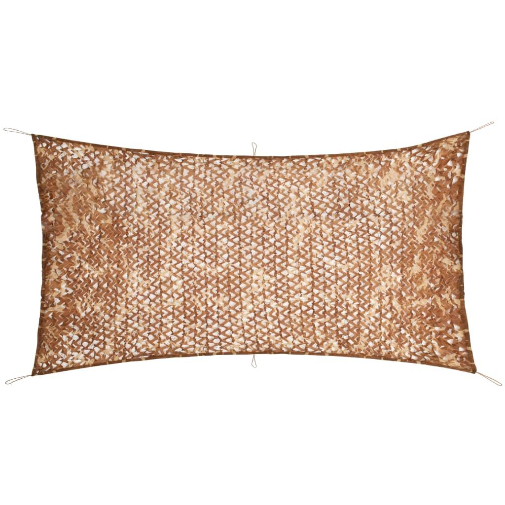 vidaXL Plasă de camuflaj cu geantă de depozitare, 1,5 x 3 m poza vidaxl.ro