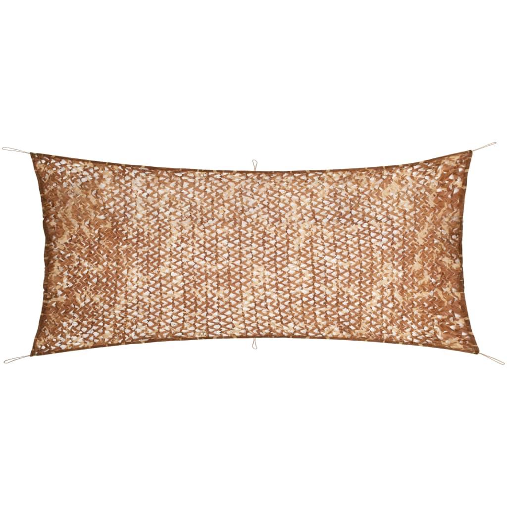 vidaXL Plasă de camuflaj cu geantă de depozitare, 1,5 x 4 m poza vidaxl.ro