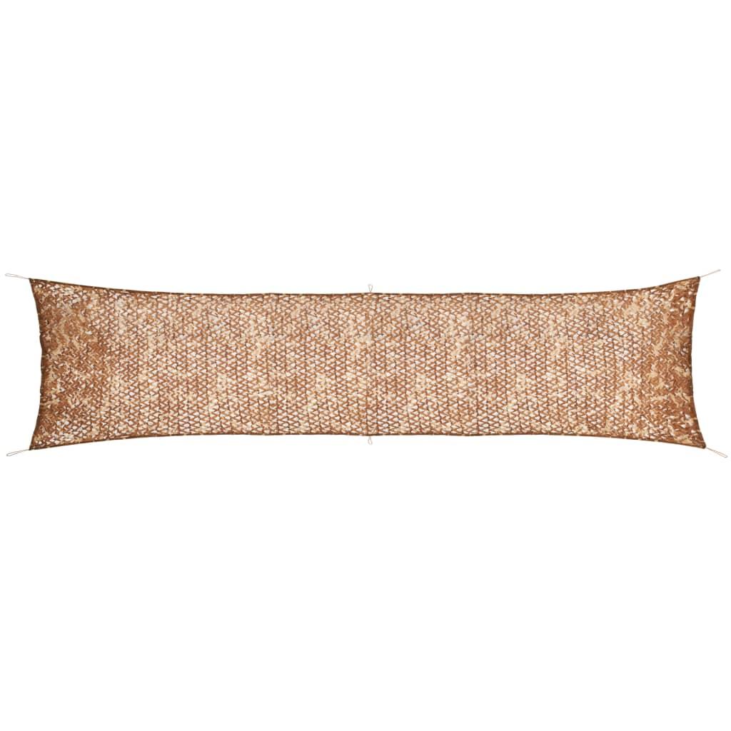 vidaXL Plasă de camuflaj cu geantă de depozitare, 1,5 x 7 m poza vidaxl.ro