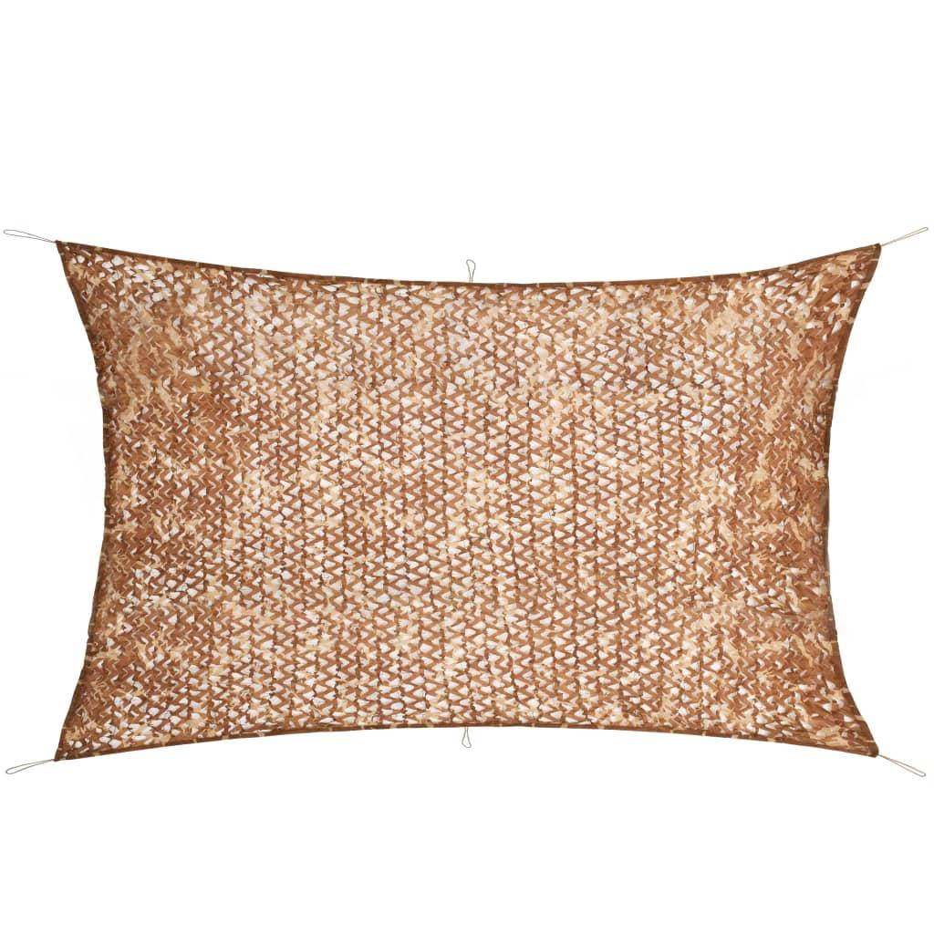 vidaXL Plasă de camuflaj cu geantă de depozitare, 3 x 5 m poza vidaxl.ro