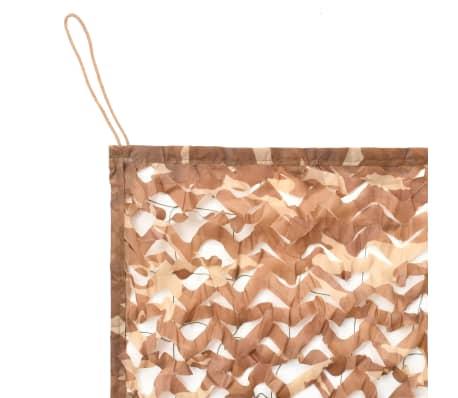 vidaXL Camouflage Netting with Storage Bag 1.5x10 m[2/4]