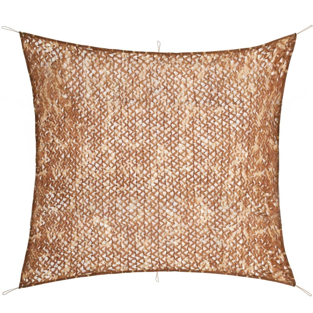 vidaXL Plasă de camuflaj cu geantă de depozitare, 4 x 4 m poza vidaxl.ro