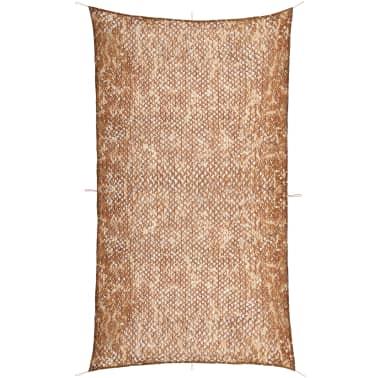 vidaXL Camouflage Netting with Storage Bag 4x8 m[1/4]