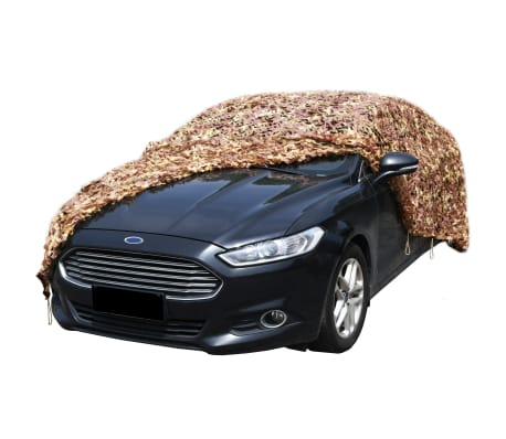 vidaXL Camouflage Netting with Storage Bag 4x8 m[2/4]