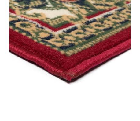 acheter vidaxl tapis oriental design persan 160 x 230 cm rouge beige pas cher. Black Bedroom Furniture Sets. Home Design Ideas