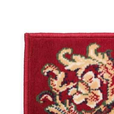 acheter vidaxl tapis oriental design persan 80 x 150 cm rouge beige pas cher. Black Bedroom Furniture Sets. Home Design Ideas