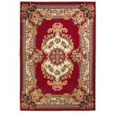 vidaXL Orientální koberec 120 x 170 cm červeno-béžový