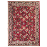 vidaXL orientalsk tæppe 80x150 cm rød/beige