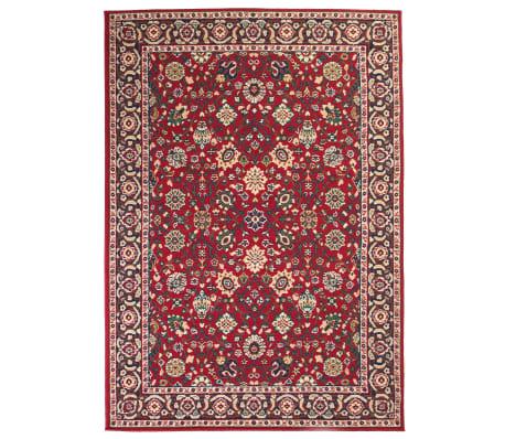 vidaXL Orientalisk matta 120x170 cm röd/beige