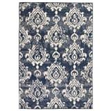 vidaXL bézs/kék modern szőnyeg kasmír mintával 140 x 200 cm