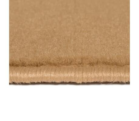 vidaXL Tappeto Moderno con Motivi Circolari 80x150 cm Marrone[3/5]