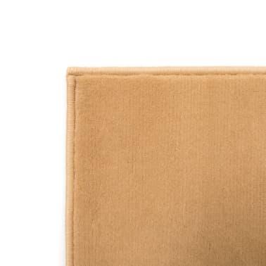 vidaXL Tappeto Moderno con Motivi Circolari 80x150 cm Marrone[2/5]