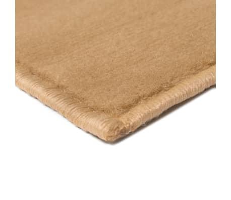 vidaxl teppich modern kreise 160 x 230 cm braun g nstig kaufen. Black Bedroom Furniture Sets. Home Design Ideas