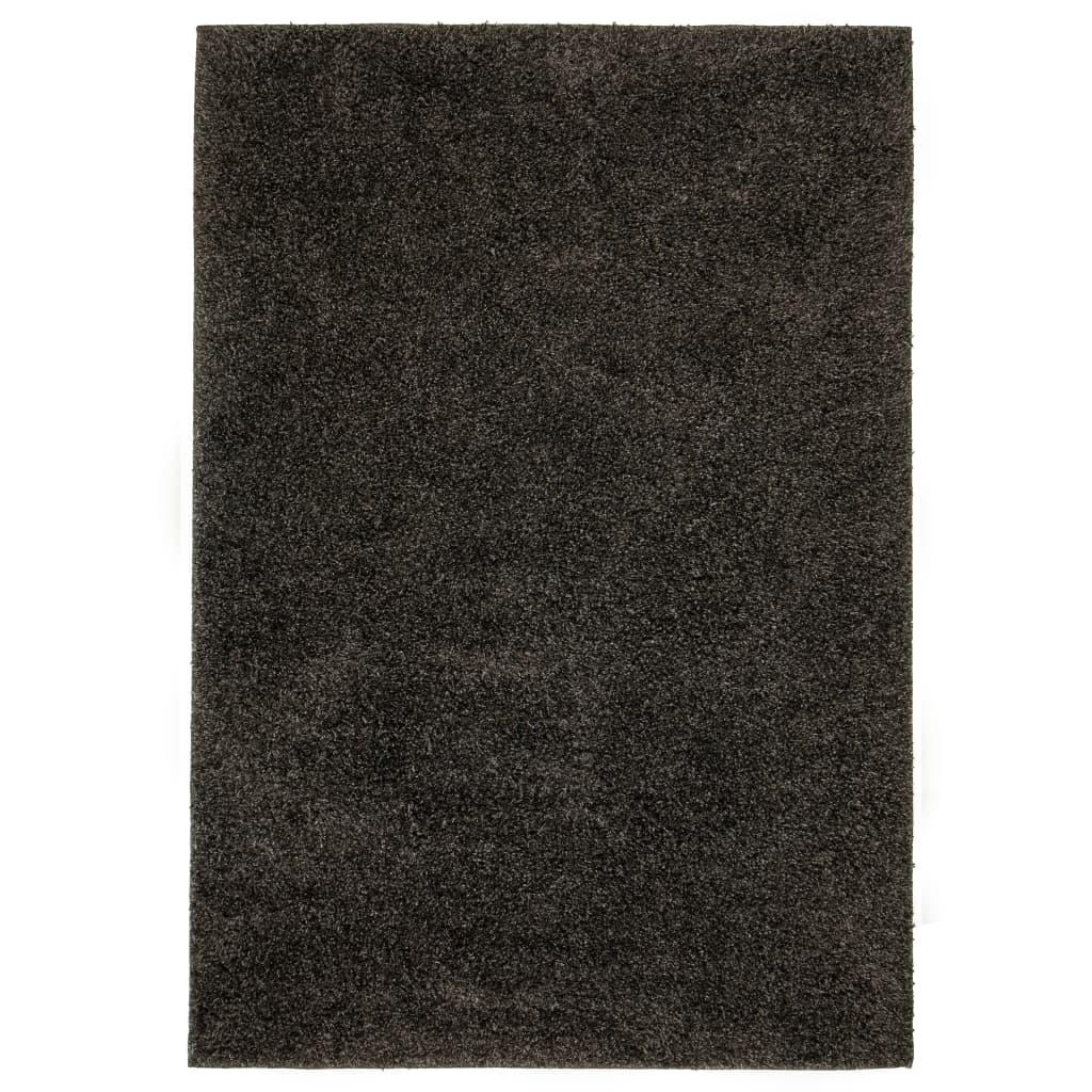 999133038 Shaggy-Teppich 120 x 170 cm Anthrazit