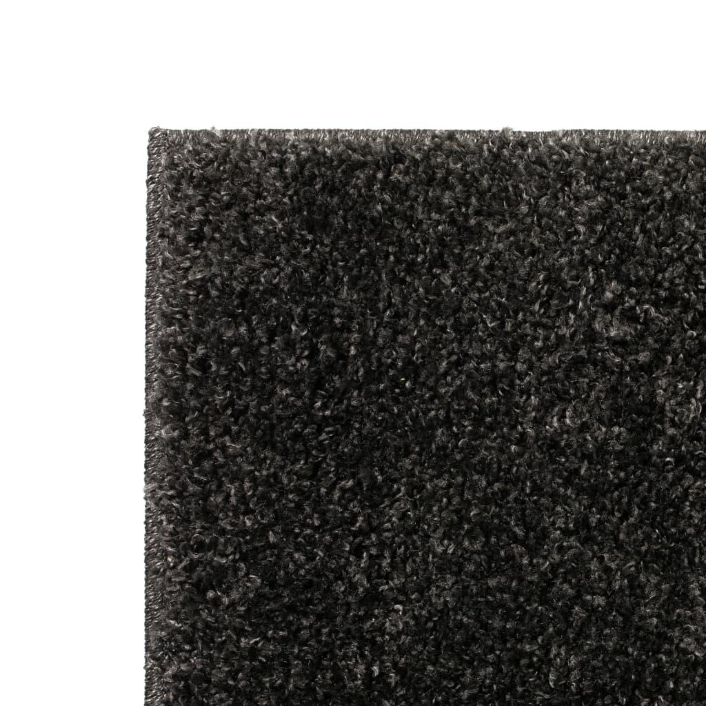 vidaXL Kusový koberec s vysokým vlasem Shaggy 120 x 170 cm antracitový
