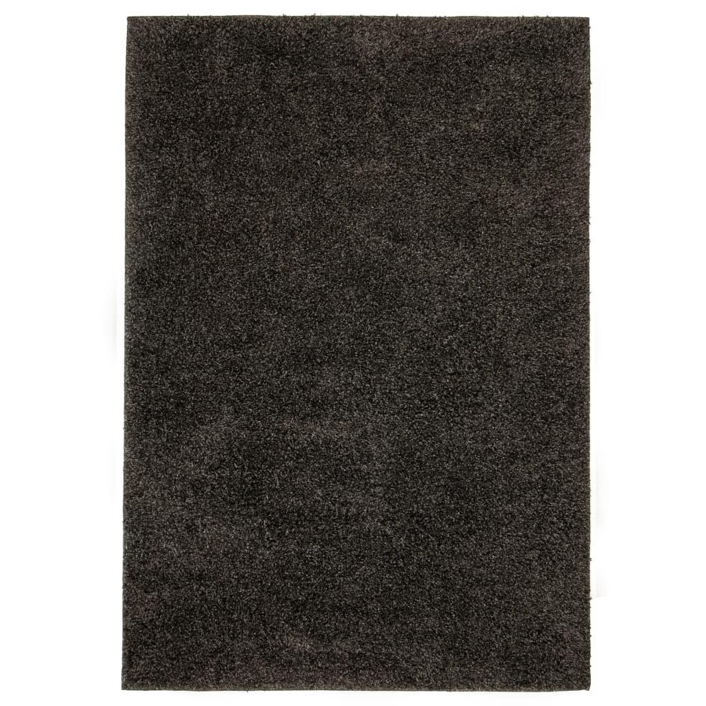 999133039 Shaggy-Teppich 140 x 200 cm Anthrazit