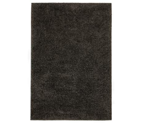 vidaXL Kusový koberec s vysokým vlasem Shaggy 140 x 200 cm antracitový
