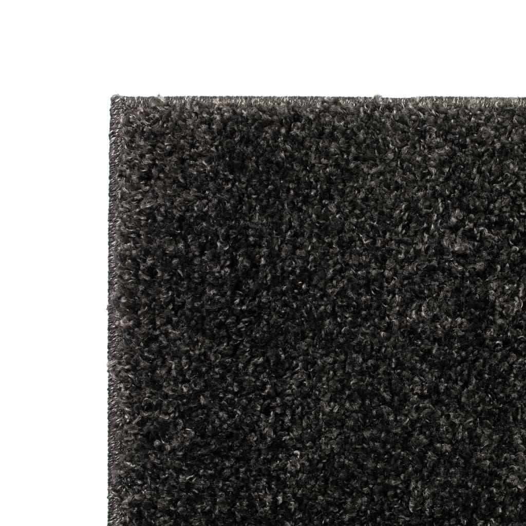 vidaXL Kusový koberec s vysokým vlasem Shaggy 160 x 230 cm antracitový