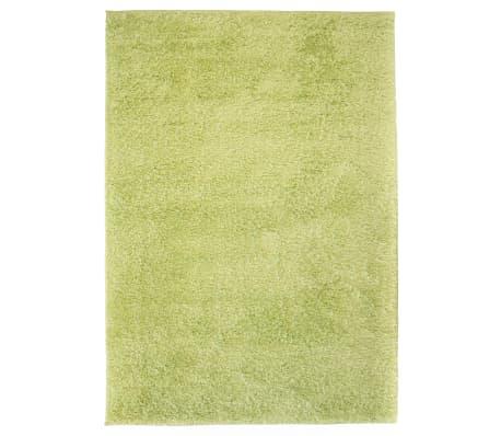 vidaXL Shaggy-matta 80x150 cm grön