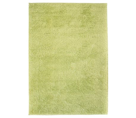 vidaXL Košata preproga 120x170 cm zelene barve