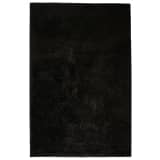 vidaXL Shaggy flossteppe 180x280 cm svart