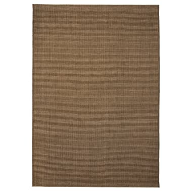 Vidaxl Area Rug Sisal Look Indoor Outdoor 120x170 Cm Brown Vidaxl