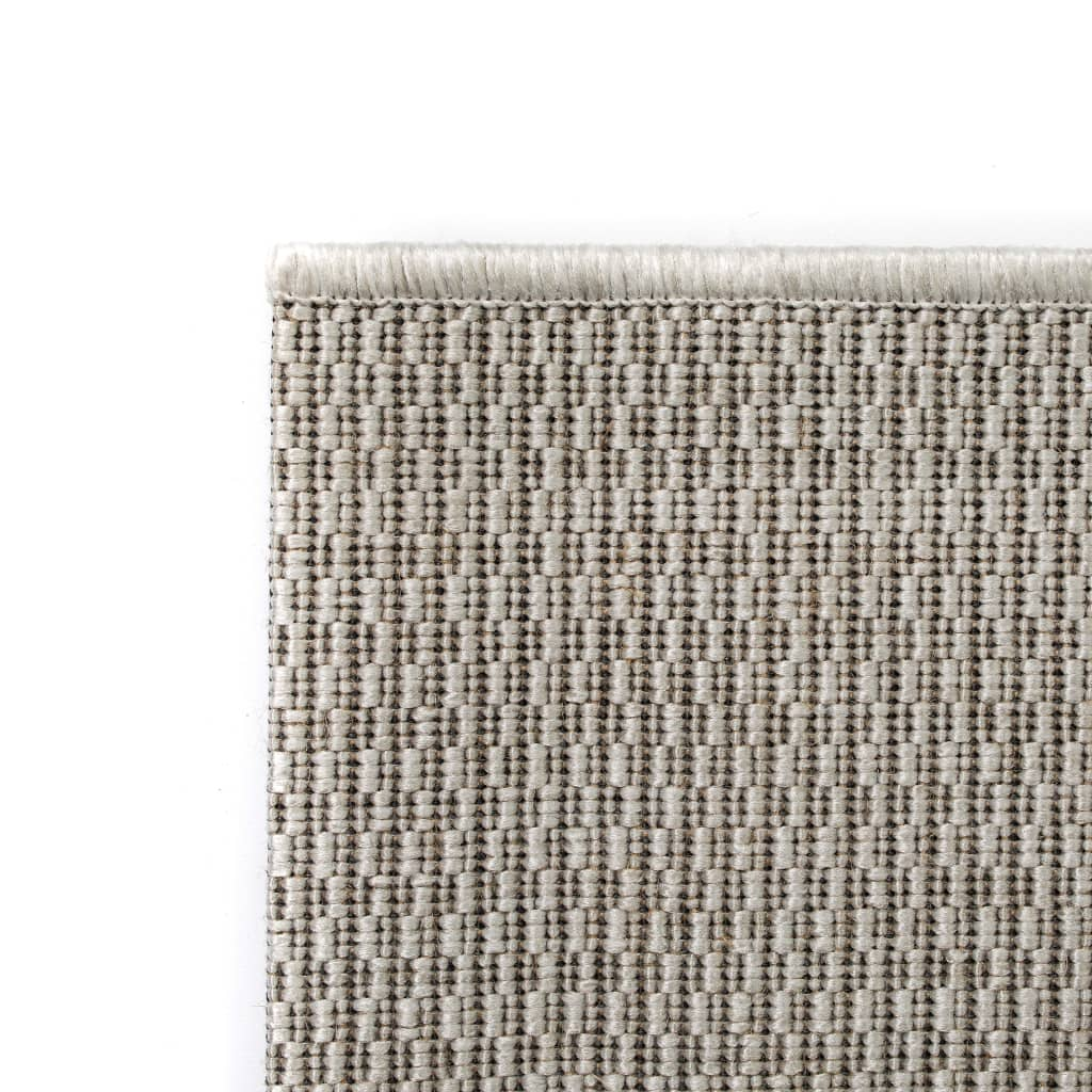 vidaXL Venkovní/vnitřní kusový koberec, sisal vzhled 80x150cm šedý