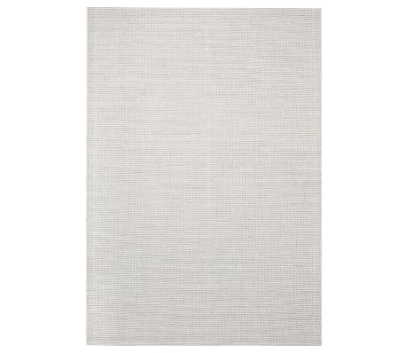 vidaXL Area Rug Sisal Look Indoor/Outdoor 120x170 cm Grey