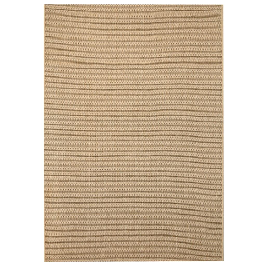 Venkovní/vnitřní kusový koberec, sisal vzhled 80x150cm béžový