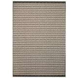 vidaXL Webteppich Sisal-Optik Indoor/Outdoor 120 x 170 cm Karomuster