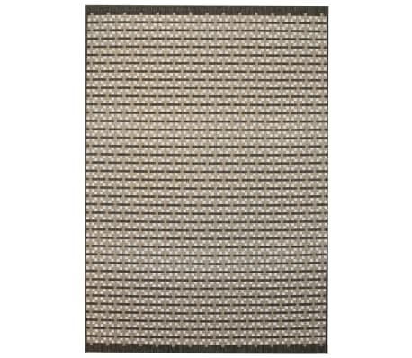 vidaXL Tapis d'extérieur/d'intérieur Aspect de sisal 160 x 230cm Carré