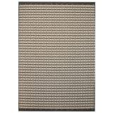 vidaXL Tappeto da Interni/Esterni Effetto Sisal 160x230 cm a Quadri