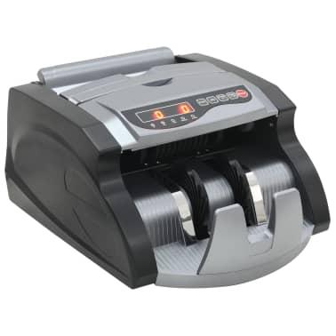 vidaXL Geldteller voor bankbiljetten zwart en grijs[2/12]