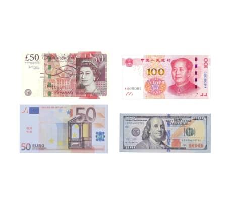 vidaXL Pengeteller for sedler svart og grå[5/12]