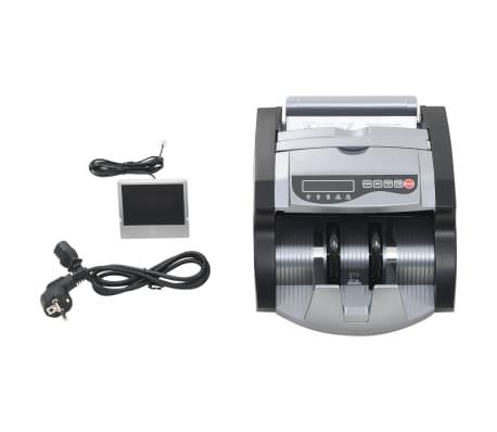 vidaXL Pengeteller for sedler svart og grå[6/12]