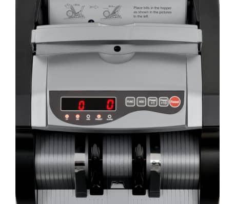 vidaXL Geldteller voor bankbiljetten zwart en grijs[11/12]