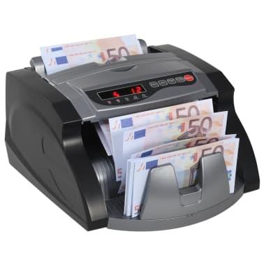 vidaXL Geldteller voor bankbiljetten zwart en grijs[1/12]