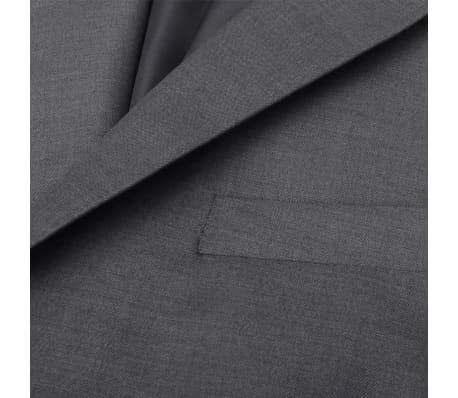 vidaXL Costum business bărbătesc, 3 piese, mărime 56, gri antracit[8/10]