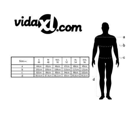vidaXL Costum business bărbătesc, 3 piese, mărime 56, gri antracit[10/10]