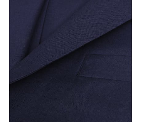 e1ada7758d36 vidaXL Herren-Anzug 3-tlg. Größe 56 Marineblau günstig kaufen ...
